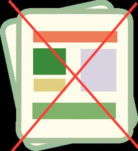 dokumen-dokumen penting tidak lagi diperlukan